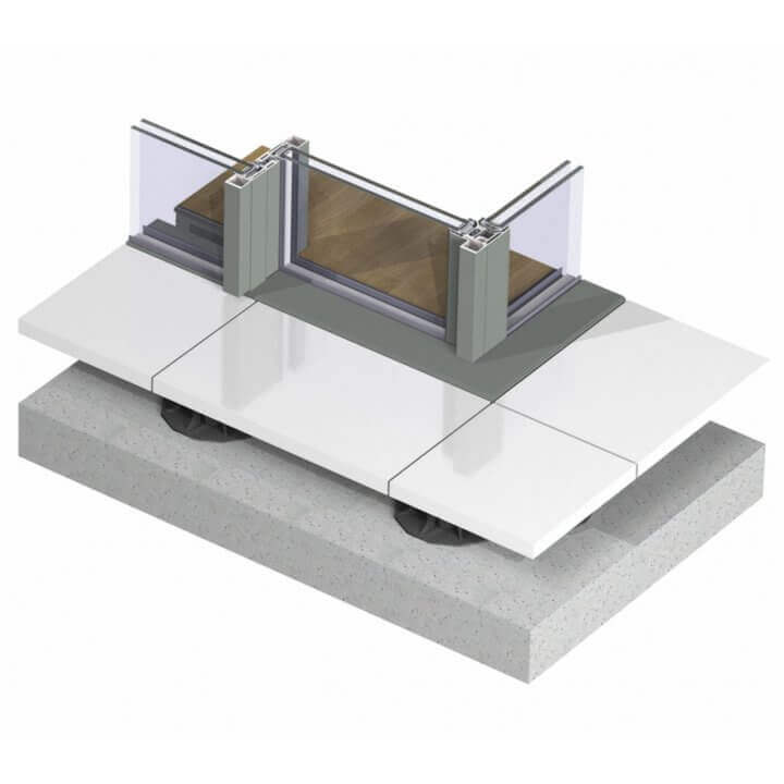 hi-finity_without gutter_corner solution_3d_topview